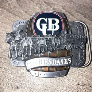 Carlton licensed product - belt buckle
